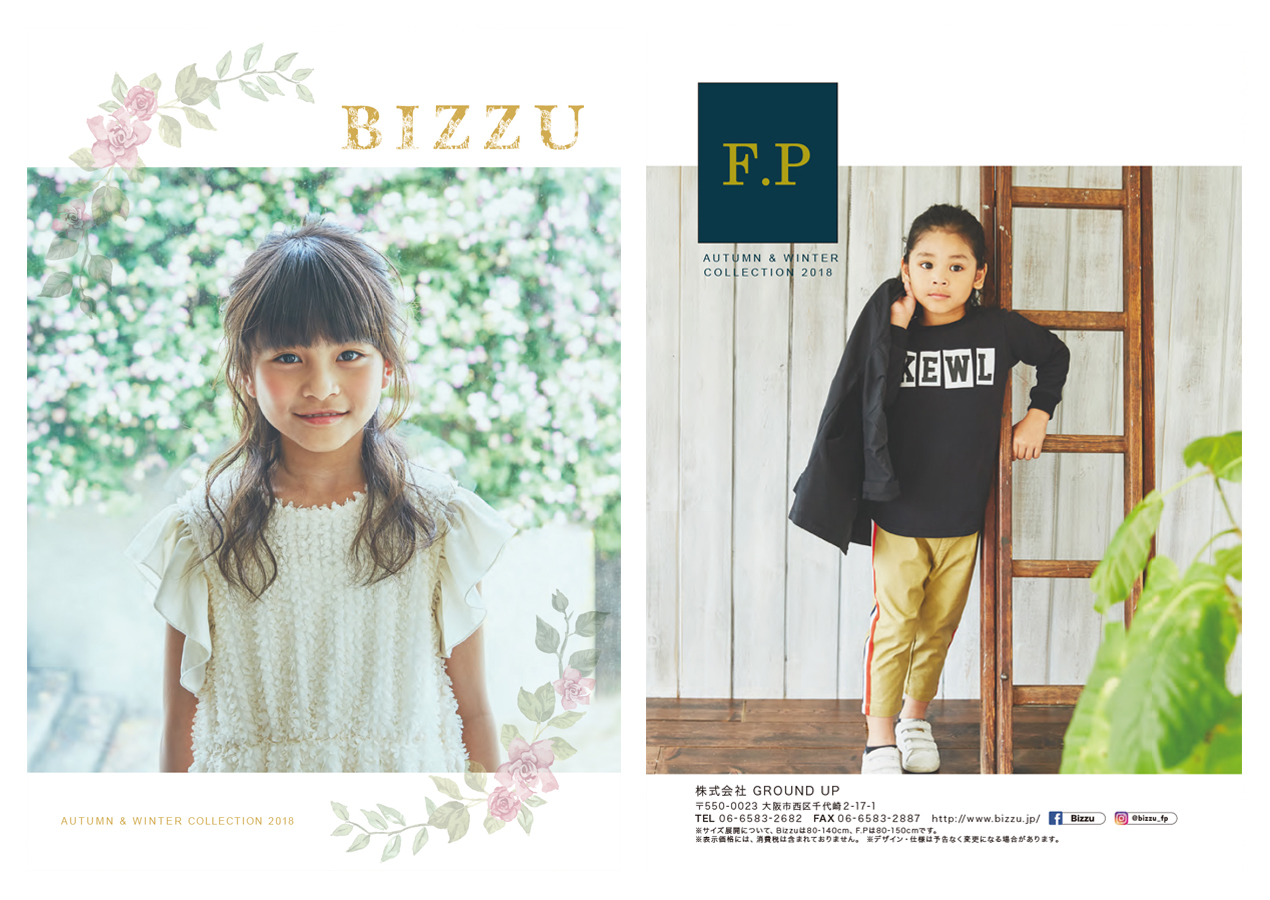 BIZZU FP AUTUMN & WINTER COLLECTIONE 2018